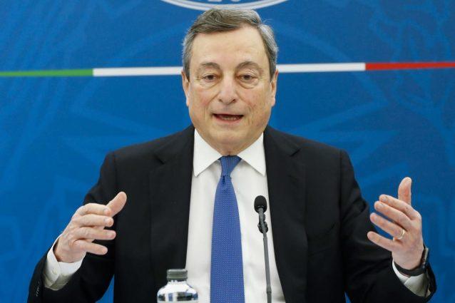 Anche Mario Draghi contro la Superlega con Uefa e Figc