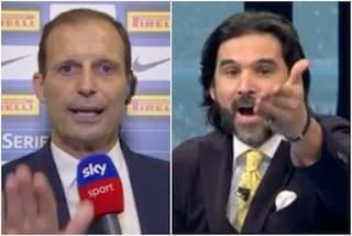"""Da Adani e Vieri, è un coro contro Allegri: """"Non può far giocare la Juve così"""""""