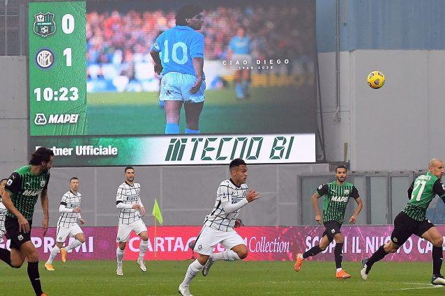 Kalahkan Sassuolo, Inter Makin Nyaman Di Puncak Klasemen  |Inter- Sassuolo