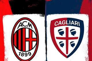 Dove vedere Milan-Cagliari in diretta TV su Sky o DAZN: canale, orario, streaming e formazioni