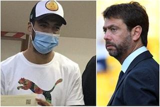 """Agnelli scarica la colpa del caso Suarez su Paratici: """"Ha gestito tutto lui"""""""