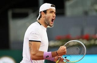Berrettini risorge e batte Garin: è in semifinale al Masters Madrid