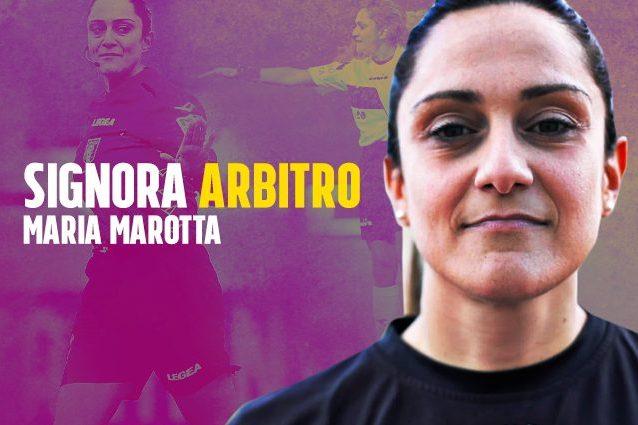 """Maria Marotta a Fanpage: """"Primo arbitro donna in Serie B anche per le colleghe che lo sognano"""""""