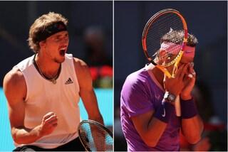 Sorpresa a Madrid: Nadal eliminato ai quarti da Zverev
