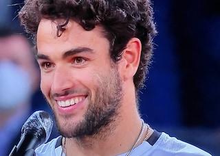 """Il discorso di Berrettini dopo la finale persa a Madrid è un inno allo sport: """"Vi siete divertiti?"""""""