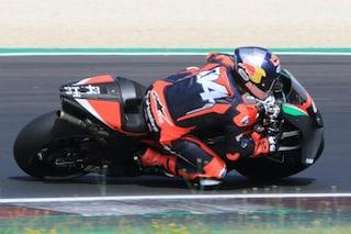 Dovizioso chiude il test a Misano con Aprilia che adesso gli mette fretta per la MotoGP 2022