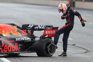 Red Bull 'colpevole' dello scoppio della gomma di Verstappen a Baku