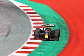 F1, GP Stiria 2021 prove libere 2: Verstappen vola anche in FP2, Ferrari meglio sul passo gara