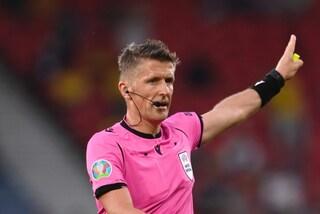Orsato torna a casa: sono già finiti gli Europei dell'arbitro italiano