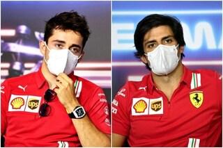 Leclerc e Sainz preoccupati dai 'misteriosi' problemi della Ferrari alla vigilia del GP di Stiria