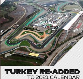 Formula 1, il calendario del Mondiale 2021 cambia ancora: rientra il GP di Turchia