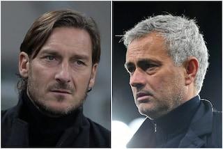 """""""Abbiamo preso l'allenatore più forte al mondo"""": Totti gode per Mourinho alla Roma"""