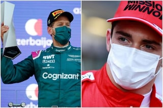 """Battuto ma felice, Leclerc esulta per Vettel: """"Si meritava il podio"""""""