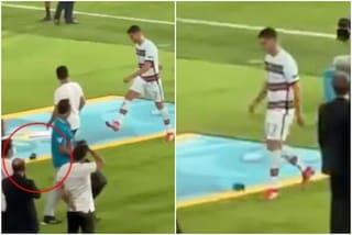 Il Portogallo non perdona Cristiano Ronaldo: si sfoga (due volte) sulla fascia da capitano