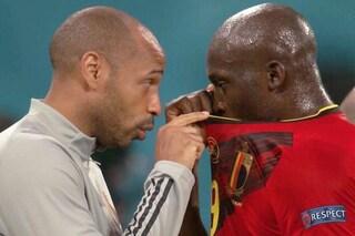 """Thierry Henry arma in più del Belgio, dà lezioni a Lukaku: """"Imparo da lui ogni giorno"""""""