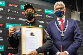 Valentino Rossi al primo GP d'Olanda da 'padrone di casa': il Dottore è cittadino onorario di Assen