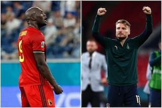"""""""Chi è più forte tra me e Lukaku? Lo chiederemo a Simone Inzaghi"""": Immobile infiamma Italia-Belgio"""