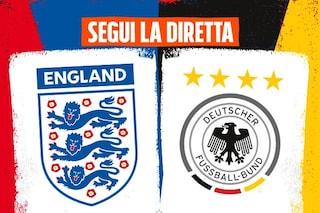 Europei 2021, Inghilterra-Germania 2-0 risultato finale: Sterling e Kane condannano i tedeschi