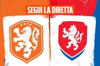 Europei 2021, Olanda-Repubblica Ceca 0-2 risultato finale: gol di Holes e Schick