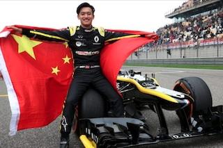Prove di pilota cinese in Formula 1: Zhou sull'Alpine di Alonso nelle FP1 del GP d'Austria