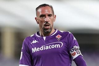 Ribery lascia la Fiorentina ma vuole restare in Italia: idea Venezia