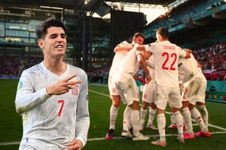 La Spagna vince una partita folle e vola ai quarti di finale di EURO 2020: battuta 5-3 la Croazia