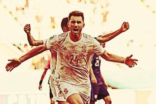 Spagna seconda nel girone E degli Europei. Svezia prima con un gol al 94', fuori la Polonia