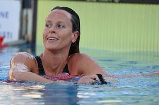 Federica Pellegrini in semifinale dei 200 sl alle Olimpiadi per il rotto della cuffia