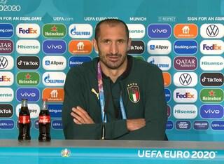 """Chiellini avverte Lukaku alla vigilia di Belgio-Italia: """"Saremo pronti per fermarlo"""""""