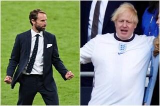 """Boris Johnson scrive a Southgate prima di Italia-Inghilterra: """"Crediamo in te, portala a casa"""""""