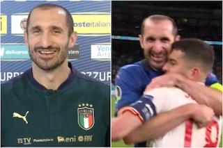 """""""Hai capito male"""": Chiellini svela cosa è accaduto con Jordi Alba prima dei rigori"""
