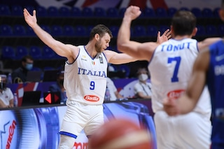 Italbasket, è finale! Travolta la Repubblica Dominicana, manca una vittoria per le Olimpiadi