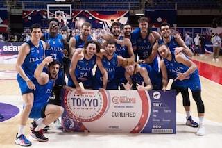 L'Italbasket si qualifica per l'Olimpiade di Tokyo 2020: i complimenti di Mancini e Chiellini