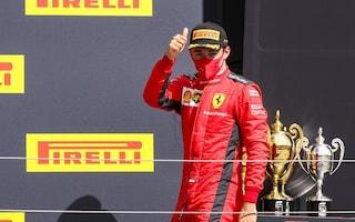 """A Silverstone, il miglior Leclerc ma non basta: """"Ho dato il 200%, sono orgoglioso del Team"""""""
