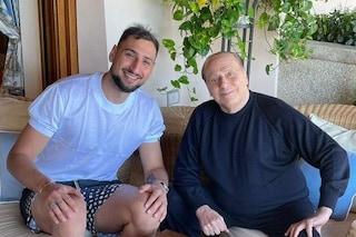 Donnarumma incontra Berlusconi, ma c'è il sospetto che sia tutto studiato
