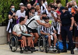 Cristiano Ronaldo alla Continassa: attesa per l'incontro con Allegri e il suo futuro alla Juventus
