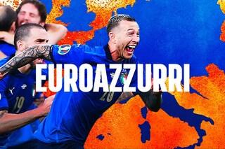 Italia campione d'Europa: gli azzurri sono tornati a Roma, festa nella capitale