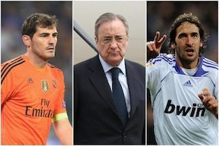"""L'audio rubato a Florentino Perez incendia il Real Madrid: """"Casillas e Raul sono due truffe"""""""