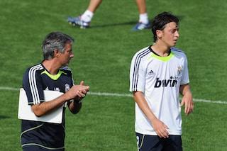 """L'audio di Perez sulle confidenze di Mourinho a Ozil: """"Lasciò la ragazza per le rivelazioni hot"""""""