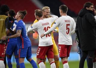 Inghilterra-Danimarca non è scontata, l'ultima volta a Wembley decise un gol di Eriksen