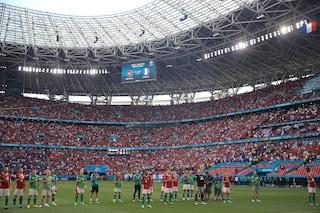 Stangata UEFA sull'Ungheria: 3 partite a porte chiuse per comportamento discriminatorio dei tifosi