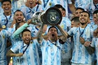 L'Argentina vince la Copa America dopo 28 anni d'attesa: Brasile battuto 1-0 al 'Maracanà'