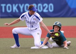 Seconda sconfitta per l'Italia del Softball alle Olimpiadi: l'Australia vince 1-0