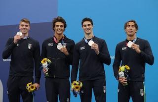 """Oltre l'argento, la vera vittoria della 4x100 e del nuoto italiano: """"Una pagina di storia"""""""