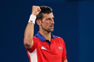 Djokovic imbattibile alle Olimpiadi, il Golden Slam sembra una formalità