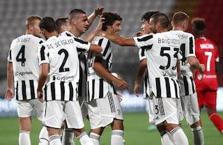 La Juventus batte 2-1 il Monza e vince il Trofeo Berlusconi: Ranocchia segna un super gol