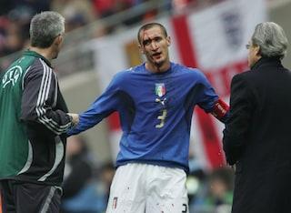 La finale degli Europei di Chiellini: l'unico in campo a Wembley a 14 anni dalla storica partita