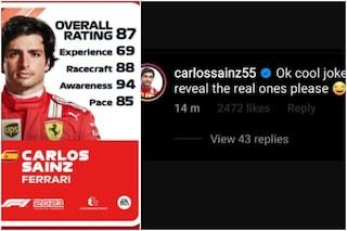 """Sainz contro le valutazioni dei piloti in F1 2021: """"Bella battuta. Ora rivelate quelle vere"""""""