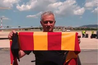 Josè Mourinho è arrivato a Roma: inizia la sua nuova avventura in giallorosso