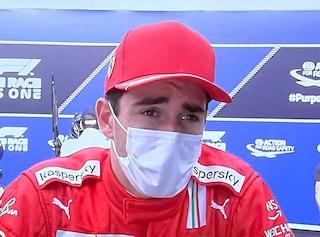 """Leclerc dopo il duello con Perez al GP Austria: """"È stato troppo aggressivo, ha esagerato"""""""